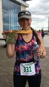 First Marathon - Garmin Marathon, April 2016