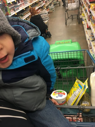 Sunda, we broke away to go to the store...
