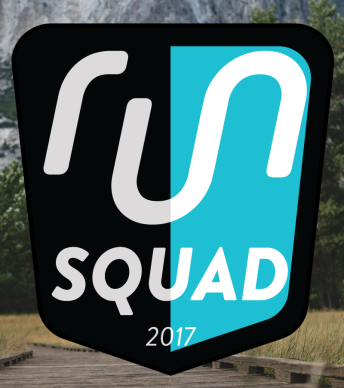 Yay! I am on the Run Gum #RunSquad2017