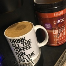 Coffee + Protein = YES!!!
