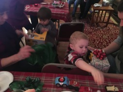 Busy cousins!